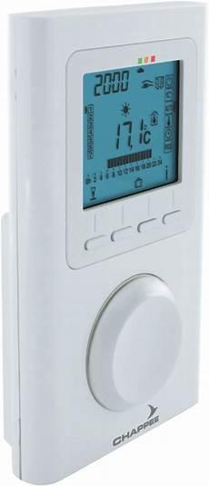 chappee thermostat d ambiance sans fil r 233 f 7675234
