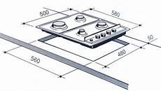 piano cottura misure misure piano cottura 4 fuochi tovaglioli di carta