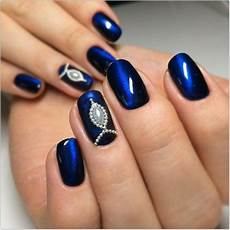 blue and black nail designs nails magazine