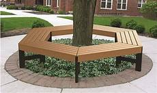 tree benches recycled plastic thebenchfactory