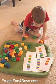 hands on math games with lego duplo frugal fun for boys frugal fun two two preschool math activities with duplo