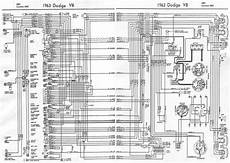 dodge v8 880 and custom 880 1963 complete electrical wiring diagram all about wiring diagrams