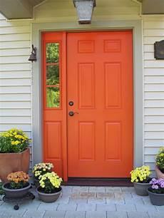 exterior color ideas with images orange front doors orange door exterior house paint color