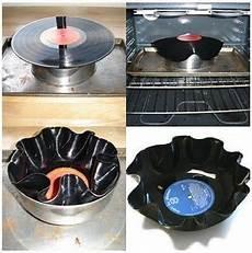 Vinyl Schale Vinyl Platten Handwerk 70er Jahre