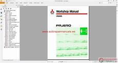 mitsubishi pajero 1991 2003 eng auto repair manual heavy equipment download