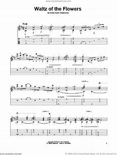tchaikovsky waltz of the flowers sheet music for guitar solo