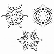 Ausmalbilder Schneeflocken Kostenlos Schneeflocke Malvorlage