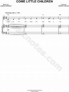 quot come little children quot from hocus pocus sheet music in a minor download print sku mn0190060