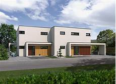 haus aus betonfertigteilen doppelhaus mit zwei individuell gestalteten wohnparteien