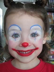 Schminken Simpel Clowntje Schminken Schminken