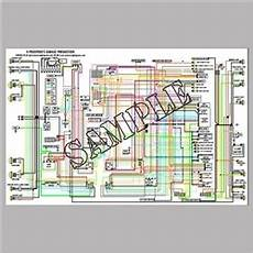 bmw wiring diagram full color laminated