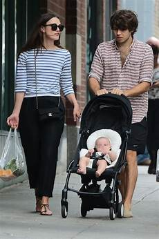 Keira Knightley And Righton Take Baby Edie