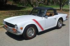 buy used 1973 triumph tr6 white stripes luggage rack