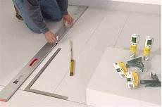 wedi platten schneiden podest aus leichtbauplatten