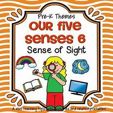 sense of sight centers and activities for preschool and pre k by kidsparkz