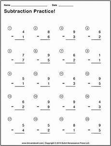 simple subtraction worksheets for students and teachers pdf format subtraction worksheets