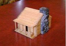 toothpick house plans 20 best toothpick crafts images toothpick crafts