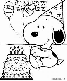 Ausmalbilder Snoopy Geburtstag Printable Snoopy Coloring Pages For Cool2bkids