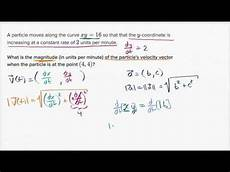 motion along a curve finding velocity magnitude
