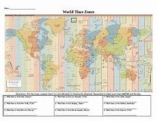 time zones esl worksheets 3790 world time zone worksheet by social studies resources by rob johnson
