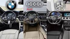 2019 bmw 5 series interior 2019 audi a6 vs bmw 5 series vs mercedes interior
