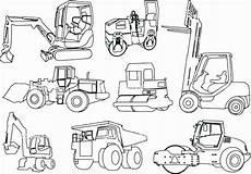garbage truck coloring sheet