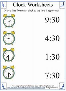 time worksheets to and past 3210 clock worksheets learning half hours