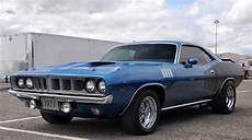 just a car barracuda and a challenger cragars and keystone classics i love this