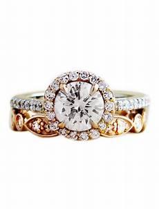 india unique rose gold diamond wedding band walden bridal unique engagement rings made