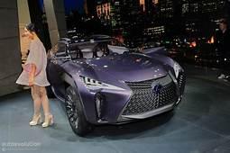 Lexus UX Concept Looks Out Of Place At 2016 Paris Motor