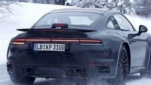 2020 Porsche 911 Turbo Spy Shots – Type 992 Gen  YouTube