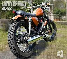 Harga Cb Modif by Motor Bekas Honda Gl100 Modif Japstyle Murah Jakarta