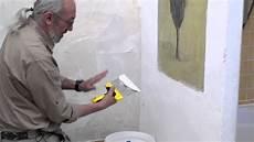 lissage de mur pr 233 paration des murs rebouchages lissage bricolage avec