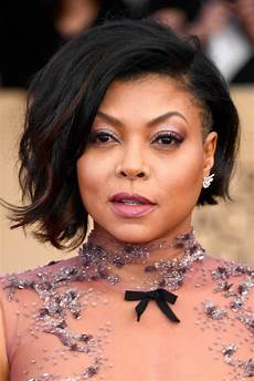 Taraji P Henson Hairstyles taraji p henson s hair and makeup at the 2017 sag awards