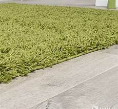 Tapis Shaggy Vert Anis Altoservices