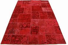 vintage teppich rot in 240x160cm 1001 2145 bei carpetido