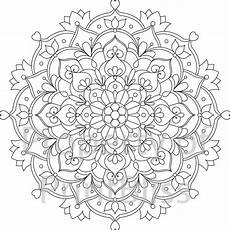 mandala coloring pages flowers 17908 29 flower mandala printable coloring page by printbliss on etsy mandala coloring pages