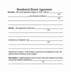 Simple Rental Agreement 11 Free Documents In
