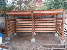 firewood storage shed i built in one day great airflow