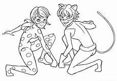 Miraculous Malvorlagen Pdf Ladybug And Cat Noir Coloring Pages