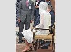 Kate Middleton sitting in pantyhose stocking feet   Kate