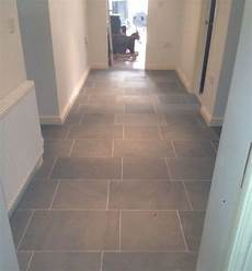 Grey Limestone Floor Tiles For Hallway Flooring Atlanta