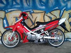 Motor Satria Modifikasi by Gallery Motor Sport Modifikasi Suzuki Satria 120 R Modifikasi