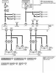 nissan frontier rockford fosgate wiring diagram collection