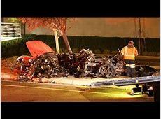 paul walker's accident on tape