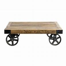Coffee Table On Castors