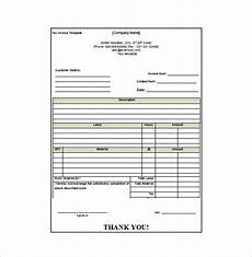 receipt invoice template invoice exle