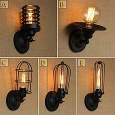 outdoor wall l lights vintage decorative retro cage wall sconce industrial wall lighting for