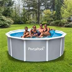 pool rund 3m brand new portapool above ground family swimming pool