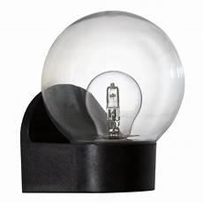 eglo 96584 lormes ip44 outdoor globe wall light in black